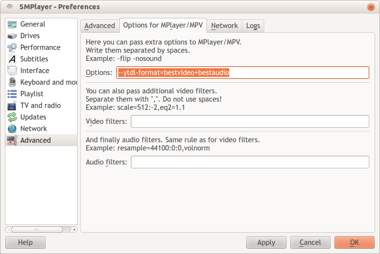 Play 1080p videos from Youtube – configuration 2 | The