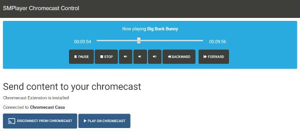 Chromecast control